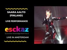 ESCKAZ in Amsterdam: Saara Aalto (Finland) - Monsters - YouTube Living In Amsterdam, Promotional Events, Finland, Monsters, Knowledge, Concert, Youtube, Recital, Youtubers