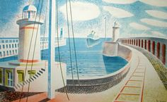 Eric Ravilious - newhaven harbour 1937