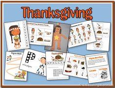 thanksgiving busy bag | Educational Freebie: Thanksgiving Preschool Pack | Money Saving Mom®