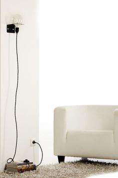 Kabel, Fassung, Birne – mehr brauchen diese Lampen nicht.