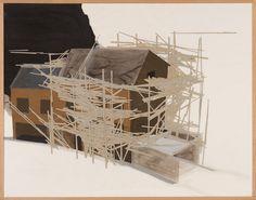 Tadashi Kawamata, 'La Maison des Squatters, Grenoble Plan F-3,' 1987, Misa Shin Gallery