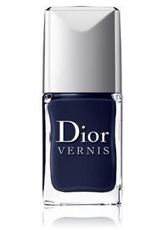 Dior blue label nail polish .. Love dark blues