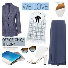 """""""We love: Office chic/THEORY"""" by ifchic ❤ liked on Polyvore featuring Theory, IRO and Mohzy"""