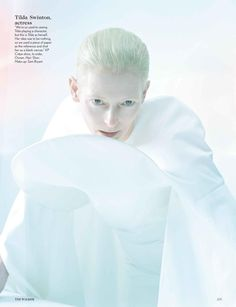 The Creative Review (British Vogue) Tilda Swinton by Tim Walker