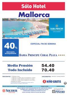 Mallorca - Estancias NO Residentes - 40% Dto.Acompañante - Bahia Principe Coral Playa ultimo minuto - http://zocotours.com/mallorca-estancias-no-residentes-40-dto-acompanante-bahia-principe-coral-playa-ultimo-minuto/