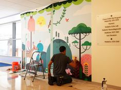 Mattel Children's Hospital UCLA installation