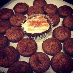 60 cal crust less #pumpkinpie #GlutenFree #NoSugarAdded #ProteinPacked #lowcal #lowcarb #highfiber #nooils #nobutter #noflour -------- 33 Cal Whole Wheat mini Banana Muffins! #taralynnmcnitt #simplytaralynn #COAC #EEEEEATS #cleaneats #cleandesserts #thanksgivingtreats by itsmegaberg
