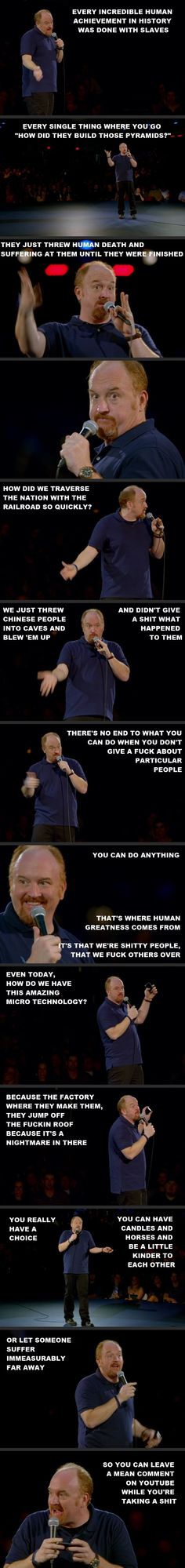 Louis C. K. everyone  Click for more Funny Pictures --> http://www.funnypicshub.com