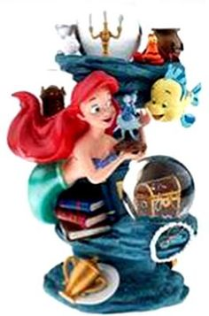 Disney Snowglobes Collectors Guide: Flounder