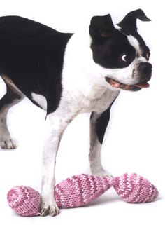 Sweet Potato Chain Dog Toy Pattern- Knitpicks, $1.99