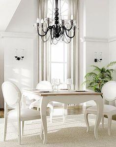 La iluminación quedará perfecta con arañas de cristal, nos aportarán delicadeza a cada una de las estancias, quedarán perfectas tanto en el comedor como en el dormitorio.