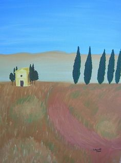Painting, Art, Tuscany, Pictures, Painting Art, Paintings, Kunst, Paint, Draw