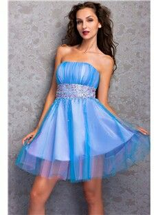 99331f318fc018 A-Line Mini Length Strapless Embroidery Miriama s Prom Homecoming Dress  9653662 - Homecoming Dresses - Dresswe.