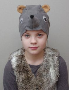 Rat Halloween costume hat for kids, girl and boy, toddler and child, mouse mask for carnival, rat he Rat Costume, Halloween Costume Hats, Bird Costume, Adult Halloween, Halloween Masks, Character Dress Up, Kids Dress Up, Christmas Shows, Toddler Costumes