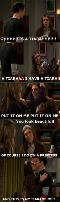 I'M A PRINCESS AND THIS IS MY TIARA - Big Bang gold!