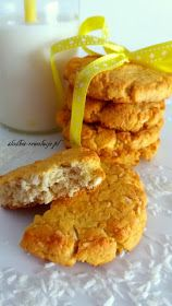 Słodkie Rewolucje: Szybkie fit ciasteczka kokosowe (bez cukru) Vegan Dessert Recipes, Donut Recipes, Donuts, Dairy, Cheese, Fit, Beignets, Cake Donut Recipes