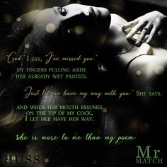 THE MISTER SERIES - Dirty talkin' sweet talker - OK! ➜http://amzn.to/2hxJ0hY
