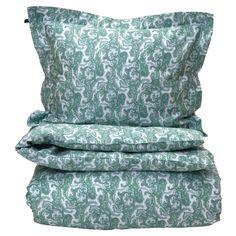 Summer Paisley påslakan enkel, green – Gant Home – Köp online på Paisley, Summer, Green, Fabrics, Shopping, Home, Glove, Tejidos, Summer Time