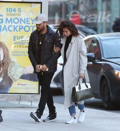 March 18th, 2017: Selena Gomez and Abel Tesfaye (The Weeknd) in Toronto, Canada