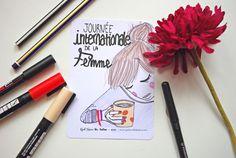 Day 8/365. http://365postcardsproject.tumblr.com #365postcards #365projectlife #godsavetheteatime #illustration #weareallwonderwomen #womenrights