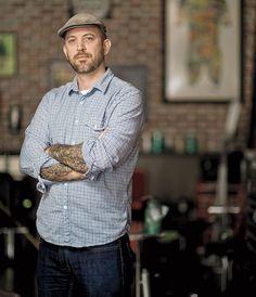 The amazing Chris Garver. One of the world's best tattoo artist. #inked #tattoo #TattooArtist