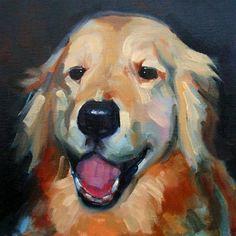 """Angus"" - Original Fine Art for Sale - © Deborah Newman"