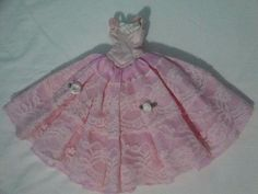 Vestido De Festa Para Boneca Barbie Ou Similares Usado
