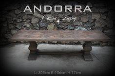 Andorra. Stort Spisebord fra Classic Living