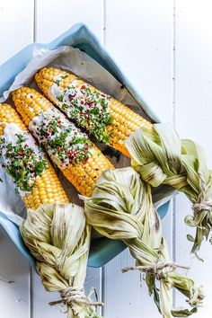 Mexican street corn                                                 #foodie #yum