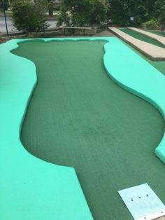 Lexington, Kentucky Course Old Testament Hole Created Man & Living Creatures An open foot shaped hole with the cup in the pinky toe. You can get an angle on the hole from the left tee of… Putt Putt, Kentucky, Things That Bounce, Golf Courses, Creatures, Toe, World, Mini, Blogging