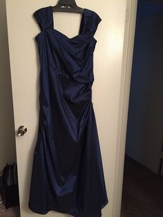Womens Tadashi Shoji size 14 dark blue gown #TadashiShoji #BallGown #Formal