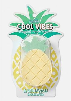 Just Shine Cool Vibes Pineapple Bath Bomb