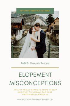 If you want to book more elopements, make sure you understand the new definition of what it means to elope in 2020. Industrial Wedding, Elopements, Photography Business, One Shoulder Wedding Dress, Adventure, Wedding Dresses, Book, Bride Dresses, Bridal Gowns