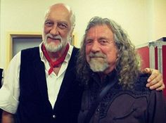 Mick Fleetwood & Robert Plant