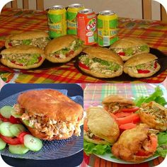 Bokits with Auntie Maryse's recipes Baguette, I Love Food, Good Food, Coconut Sorbet, Puerto Rican Recipes, Island Food, Cooking Recipes, Healthy Recipes, Caribbean Recipes