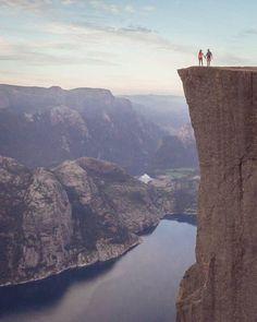 Preikestolen Norway | Steve Walasavage Say Yes To Adventure