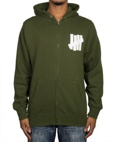 Undefeated - 5 Strike Zip-Up Hoodie - $60