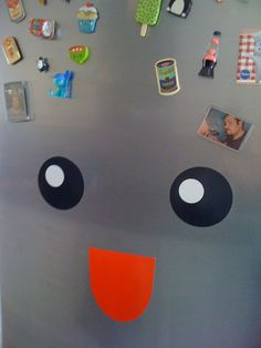 Smiley fridge!