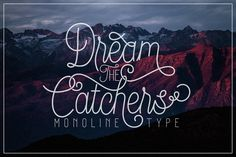 Free Design Data: Download Dream Catchers Script Font Free