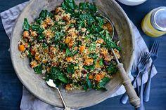 Butternut Kale Quinoa Salad