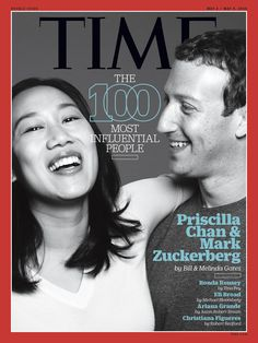 """Bill Gates and Melinda Gates on Mark Zuckerberg and Priscilla Chan: """"Changing the world once was not enough for them."""" #TIME100"""