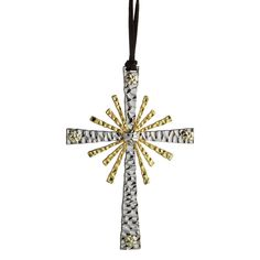 Forged Cross Ornament