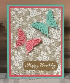 CC530 - I Love Lace by bejoyce - Cards and Paper Crafts at Splitcoaststampers