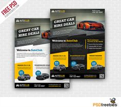 Download Cars Rental Flyer Free PSD Template. This Free PSD Flyer is ready to use for Car rent and sale or Retail Business, also can use any kind of Business.This Flyer PSD Template is designed and created in adobe Photoshop. All layers are fully organized and structured so that you can easily find the layers to change text, color and images.