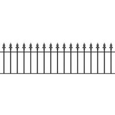 Royale high Metal Iron Steel Wall Fence Railings from Cannock Gates Black Railing, Wall Railing, Metal Railings, Iron Steel, Fence Panels, Steel Wall, Classic House, House Front, Metal Walls