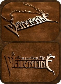 Custom Bullet For My Valentine Necklace Dog Tag Necklace, Arrow Necklace, When Is My Birthday, Bullet For My Valentine, Gothic Metal, Punk Outfits, Band Merch, Skull Tattoos, Me Me Me Song