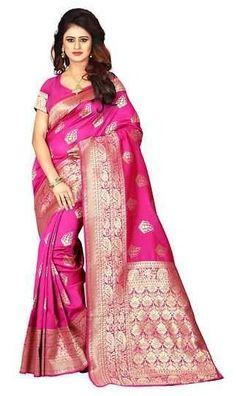 Silk Sarees Online Shopping, Indian Designer Sarees, Art Silk Sarees, Blue Art, Sari, Collection, Fashion, Saree, Moda