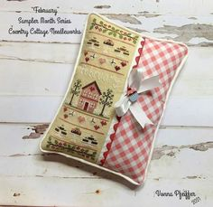 Country Cottage Needleworks, Cross Stitch Finishing, Couture, It Is Finished, Stitching, Projects, Instagram, Cross Stitch, Embroidery