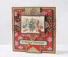 новогодние открытки - Скрапбукинг (бумажный) - Babyblog.ru