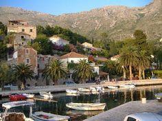 Mlini near Dubrovnik in Croatia.